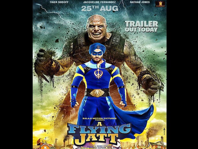 Flying Jatt' trailer: Tiger Shroff's super-hero movie appears ...
