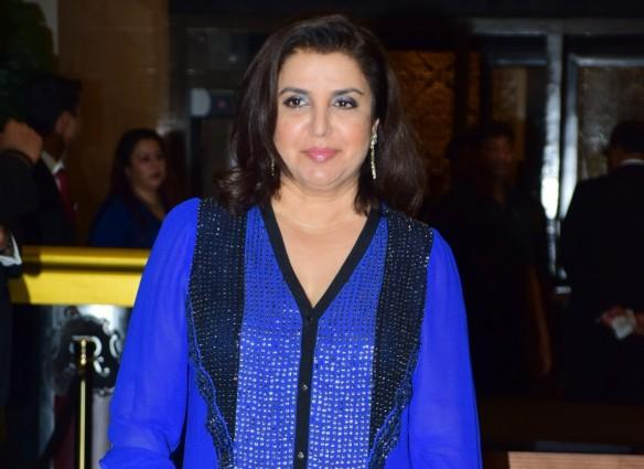 "Farah Khan to replace Ganesh Hegde as judge on ""Jhalak Dikhhla Jaa 9""? Pictured: Farah Khan on Preity Zinta-Gene Goodenough wedding reception"