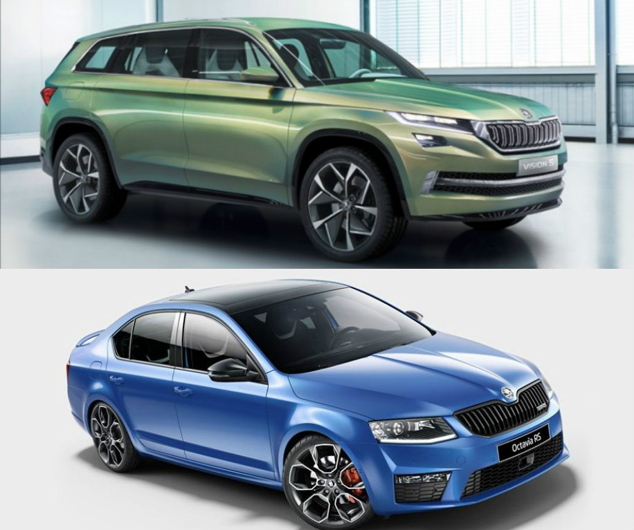 confirmed skoda kodiaq suv octavia rs and 2 other models to be launched in india before 2017. Black Bedroom Furniture Sets. Home Design Ideas