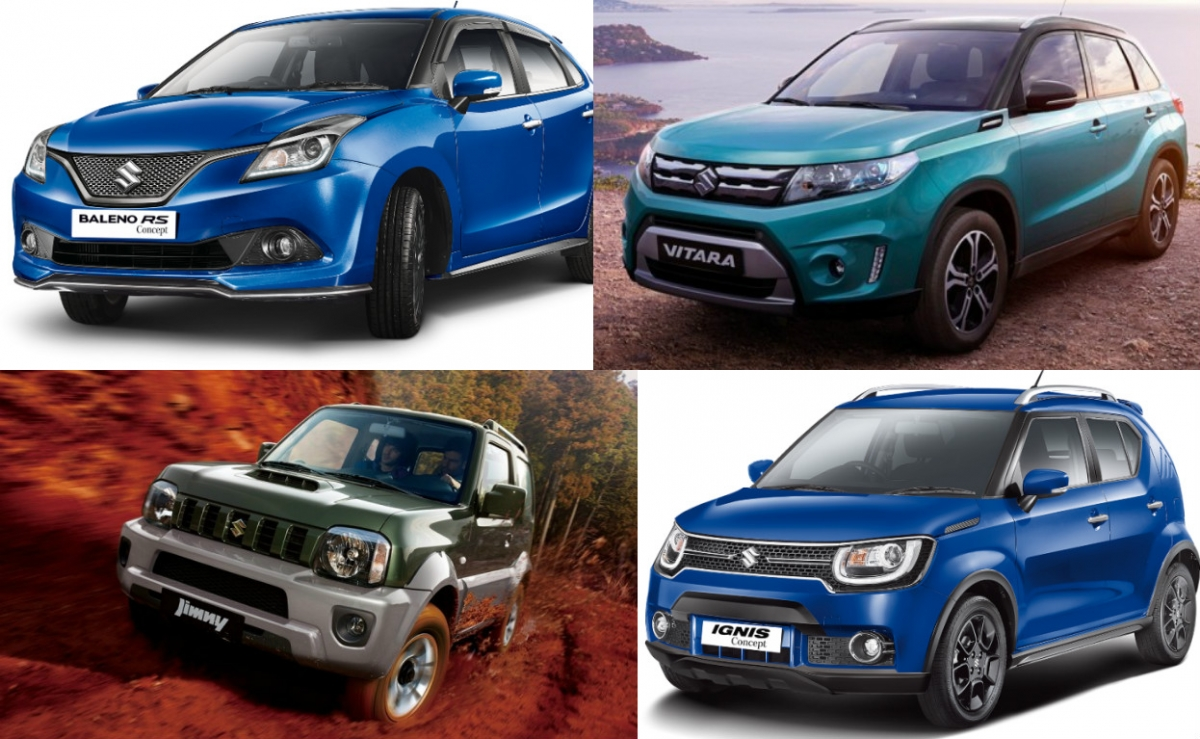 7 upcoming maruti suzuki cars in india baleno rs ignis vitara and others. Black Bedroom Furniture Sets. Home Design Ideas