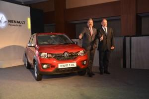 Renault launches Kwid with new powerful 1.0l engine.