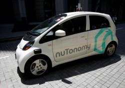 self-driving taxis