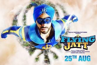 """'A Flying Jatt' 1st day box office collection: Remo's film fails to become biggest opener for Tiger Shroff. Pictured: """"A Flying Jatt"""" poster"""