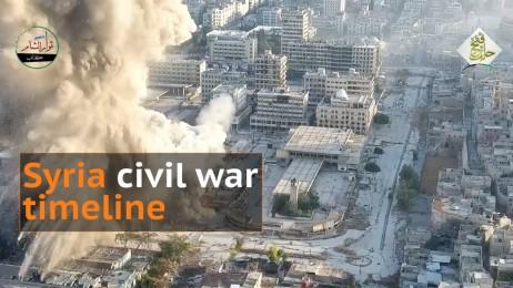 Syrias civil war: A timeline of the deadly conflict