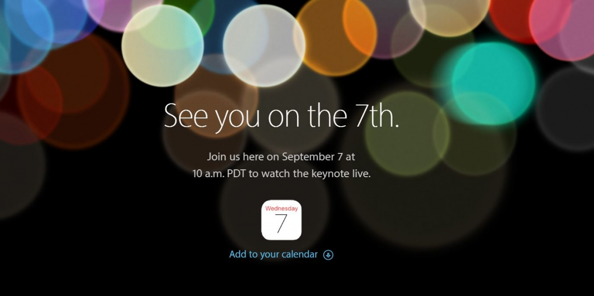 Apple's iPhone 7: Launch Date Leaked