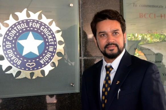 BCCI, Anurag Thakur