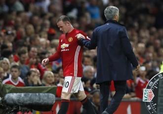Wayne Rooney Jose Mourinho Manchester United