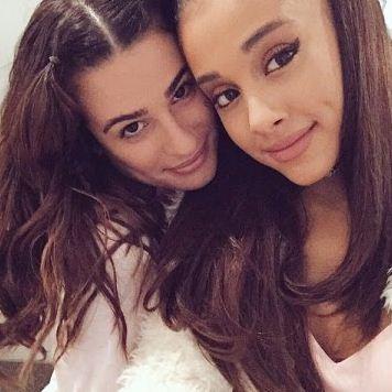 Scream Queens stars Ariana Grande and lea Michele