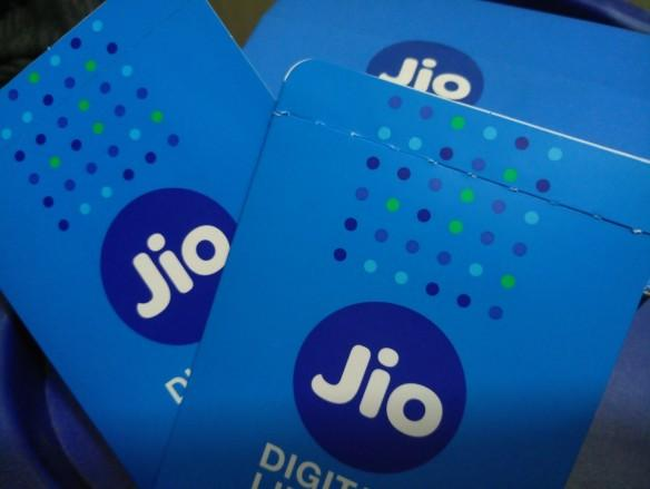 Reliance Jio SIM cards