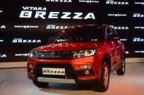maruti suzuki vitara brezza sales september domestic exports models share price