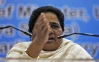 India's BSP Chief Mayawati asks Muslims in UP to not waste their votes on SP and Congress.