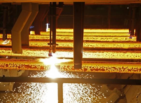 Steel production World Steel Association tata steel china imports anti dumping demand global 2016 2017 weak india jindal steel mittal arcelor posco