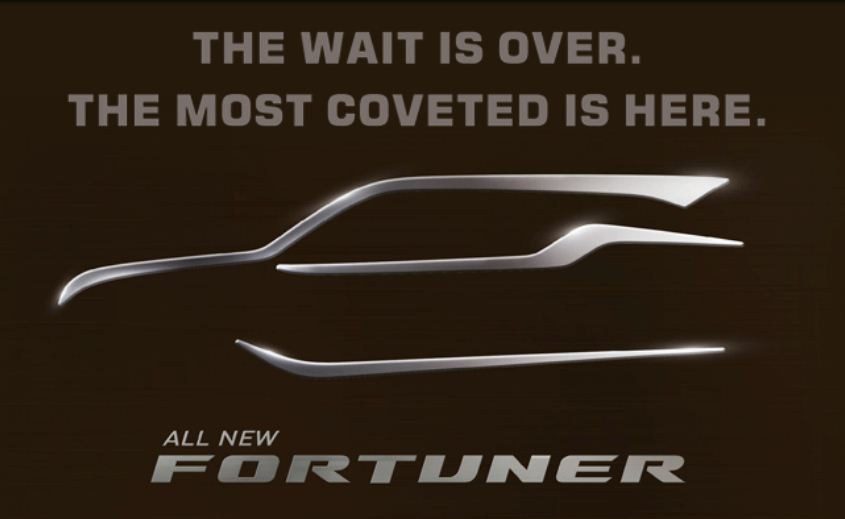 New Toyota Fortuner website goes live, launch on November