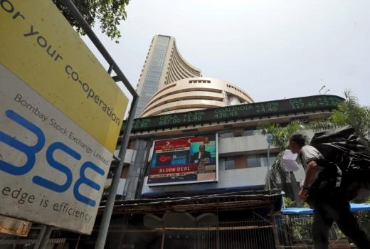 bse nse stock markets crash us fed tcs infosys retail inflation data september