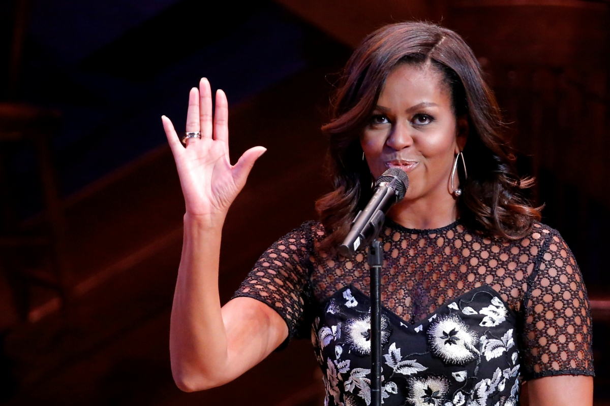 Image result for Michelle Obama's Last Message As FLOTUS