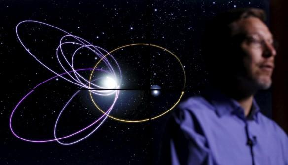 Planet Nine in the Solar system