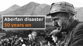 Aberfan disaster: 50th anniversary of the coal tip landslide that killed 116 children
