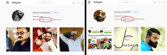 Jayasurya Instagram