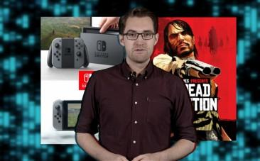 Video game news round-up: Nintendo unveils Switch and Rockstar announces Red Dead Redemption 2