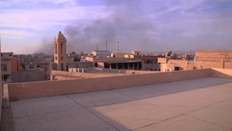 Church bells ring again in freed Iraqi town of Bartella