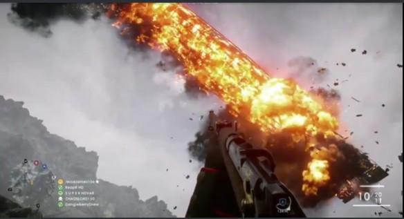 Battlefield 1: Hilarious Zappelin Behemoth fire tornado glitch discovered; now available for public viewing
