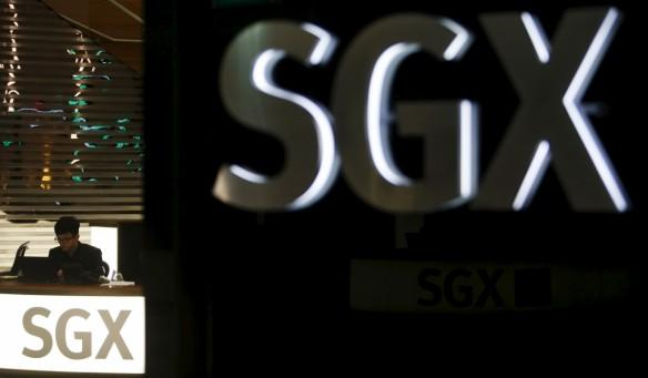 sgx singapore stock exchange results million profit revenue down fall straits times index volatility government marina bay