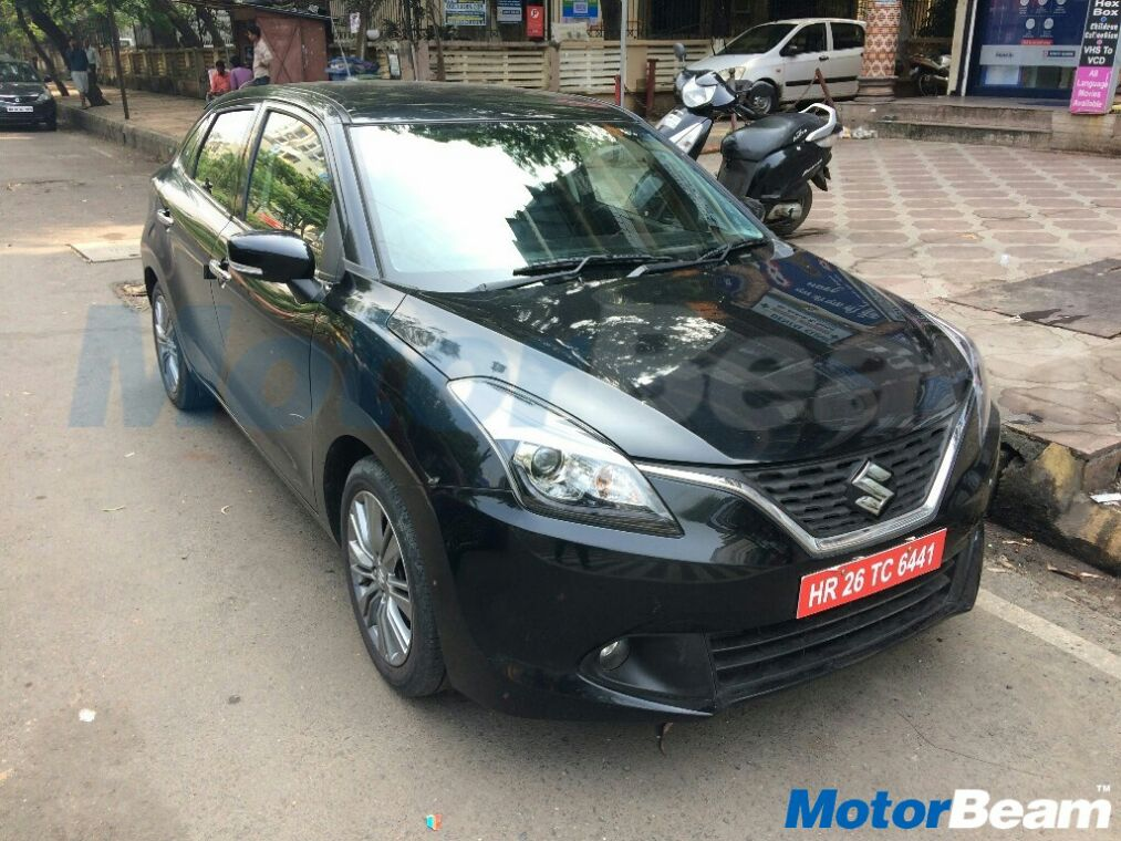 maruti suzuki baleno shvs mild hybrid spotted testing in mumbai. Black Bedroom Furniture Sets. Home Design Ideas