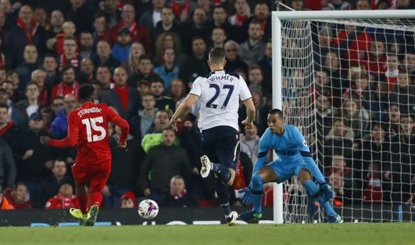 Daniel Sturridge Liverpool Tottenham Vorm