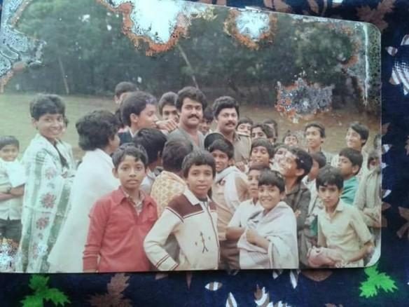 A kid in this photo has directed Mohanlal and Lalu Alex