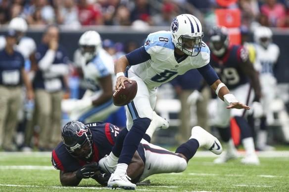 Marcus Mariota Tennessee Titans Houston Texans