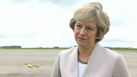 Theresa May hails Nissans investment as fantastic news for UK post-Brexit