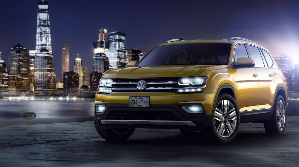 volkswagens   seater suv  atlas   teramont  china     india