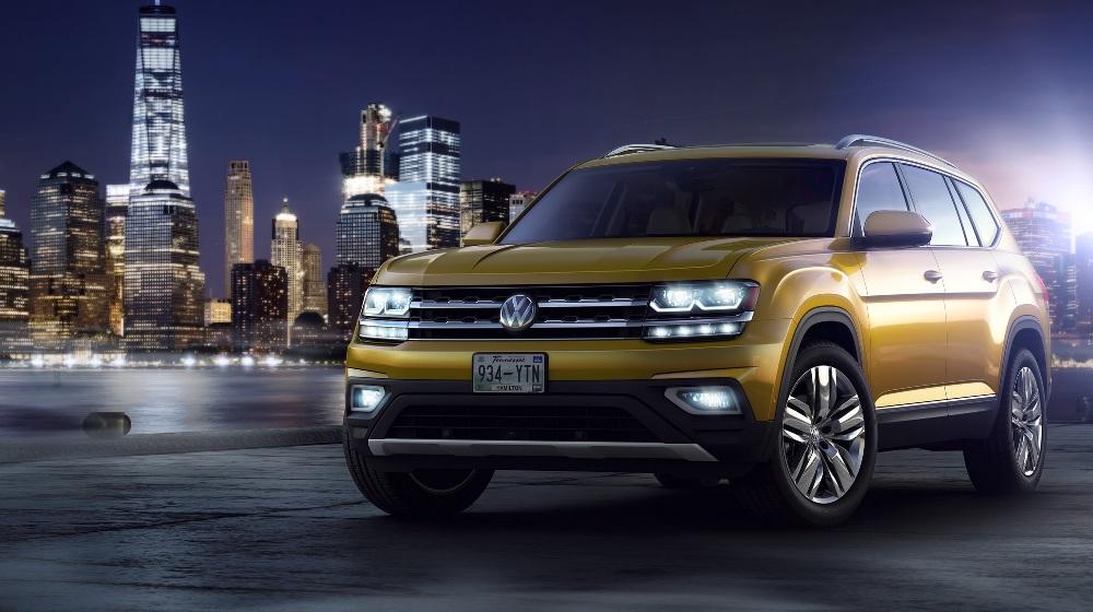 Volkswagen S New 7 Seater Suv Is Atlas In Us Teramont In