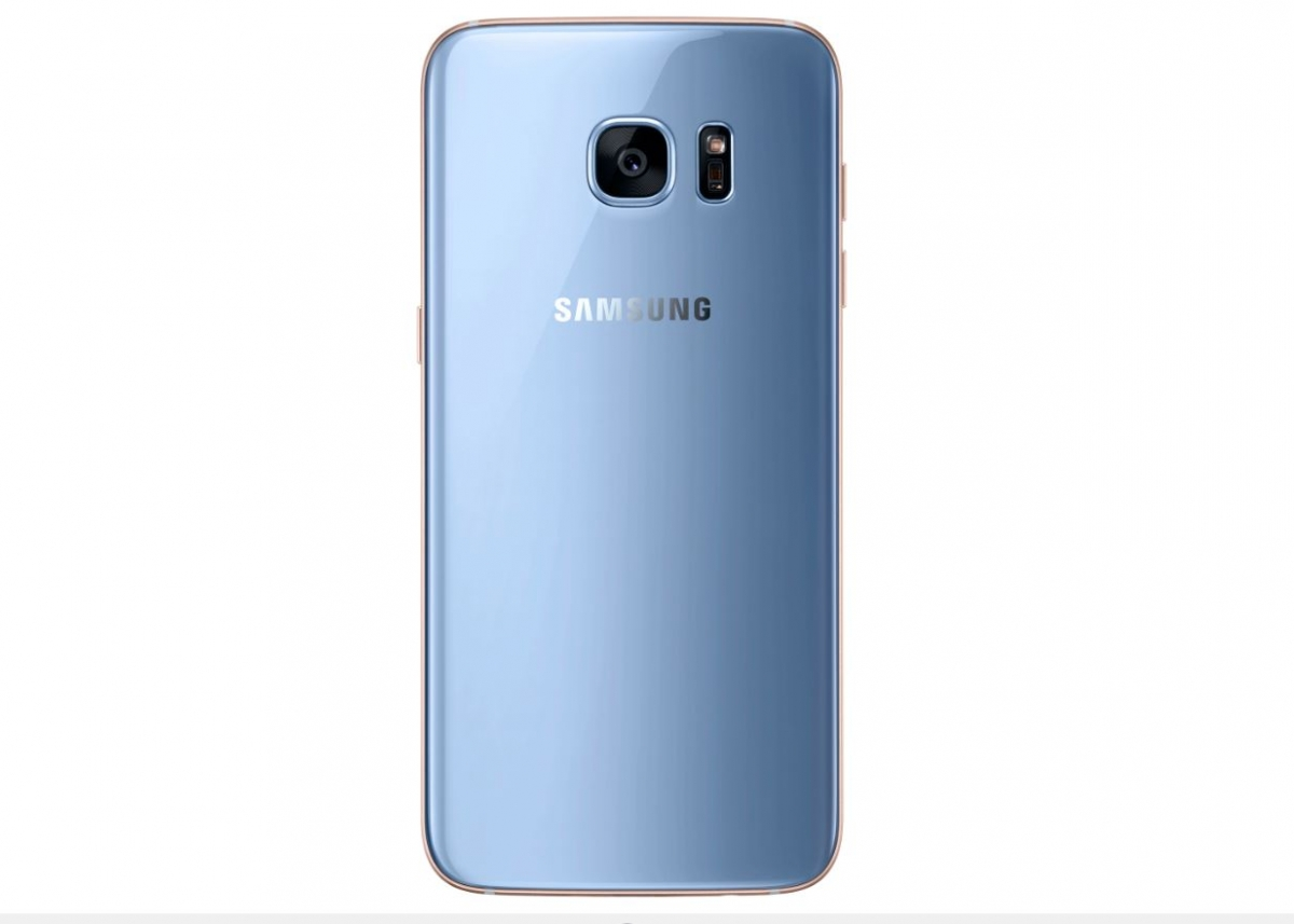 Samsung officially launches Galaxy S7 edge Blue Coral ...