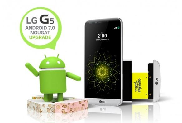 Android Nougat update released to LG G5 [How to install]