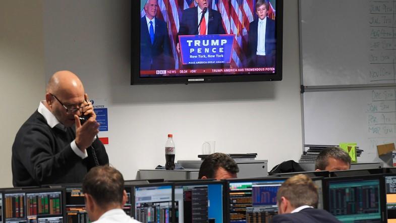 Donald Trump presidency win rocks global markets