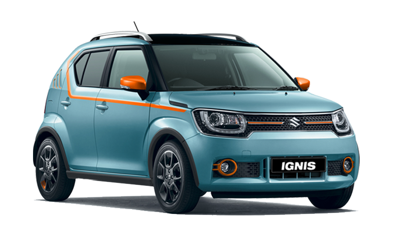 suzuki ignis iunique limited edition unveiled only 100 units to be made ibtimes india. Black Bedroom Furniture Sets. Home Design Ideas
