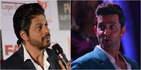 Shah Rukh Khan, Hrithik Roshan
