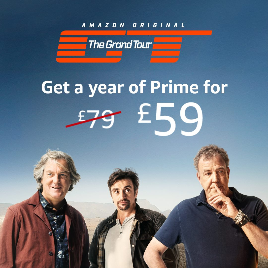 amazon prime black friday offer 20 off for uk customers thanks to the grand tour ibtimes india. Black Bedroom Furniture Sets. Home Design Ideas