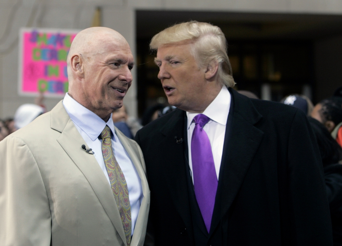 Trump shaved head