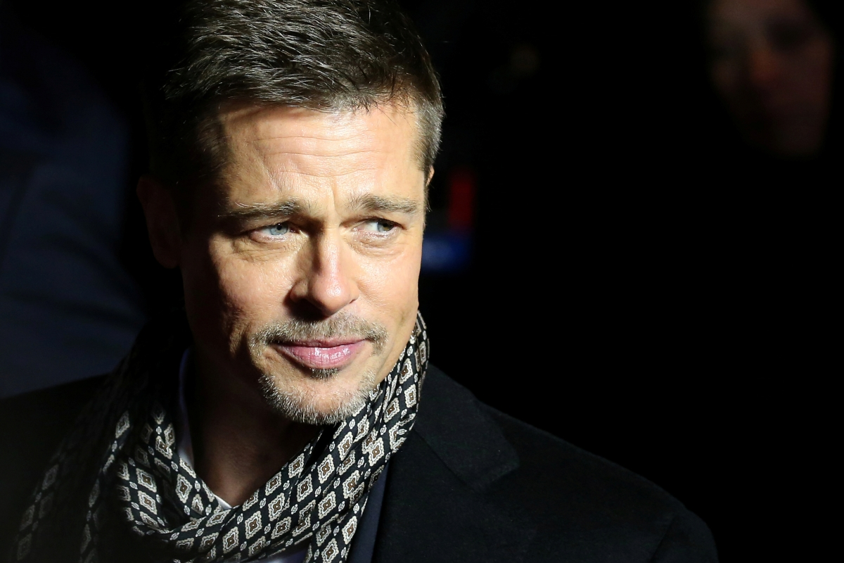 Brad Pitt plans to win...