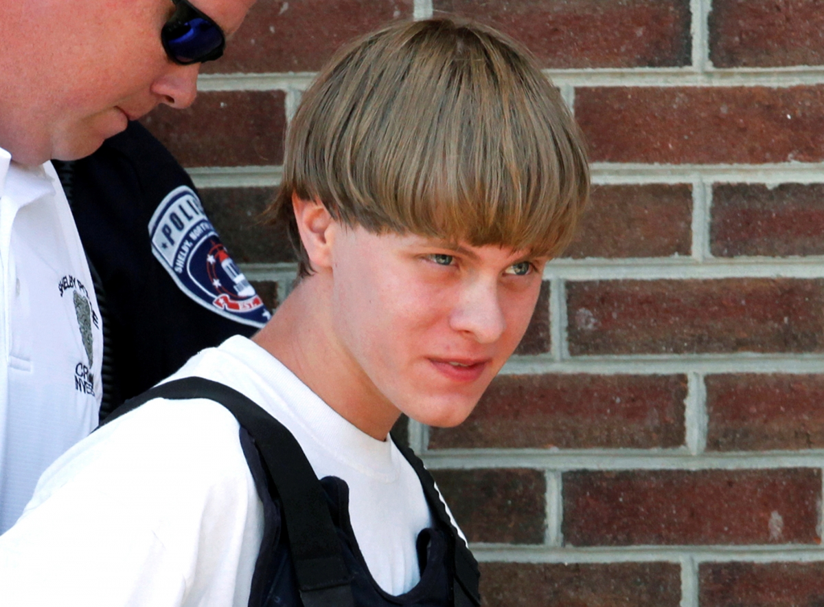 Charleston Church Shooting Accused Dylan Roof Confesses