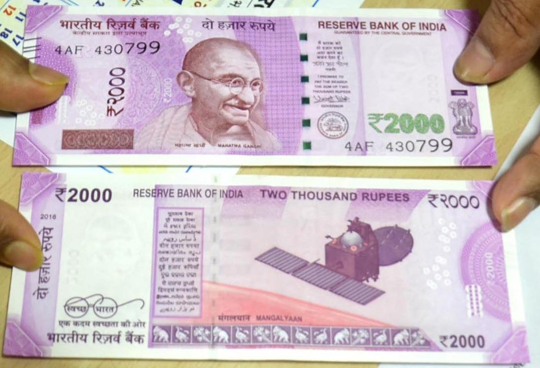 Counterfeit Rs 2000 Notes Have 50% Of Features Closely