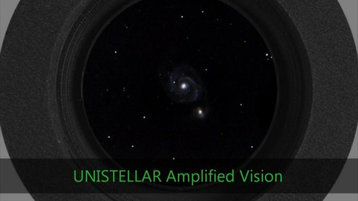 Take a look into the hidden universe through a telescope using light amplification technology