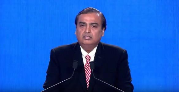 RIL's chairman and managing director Mukesh Ambani