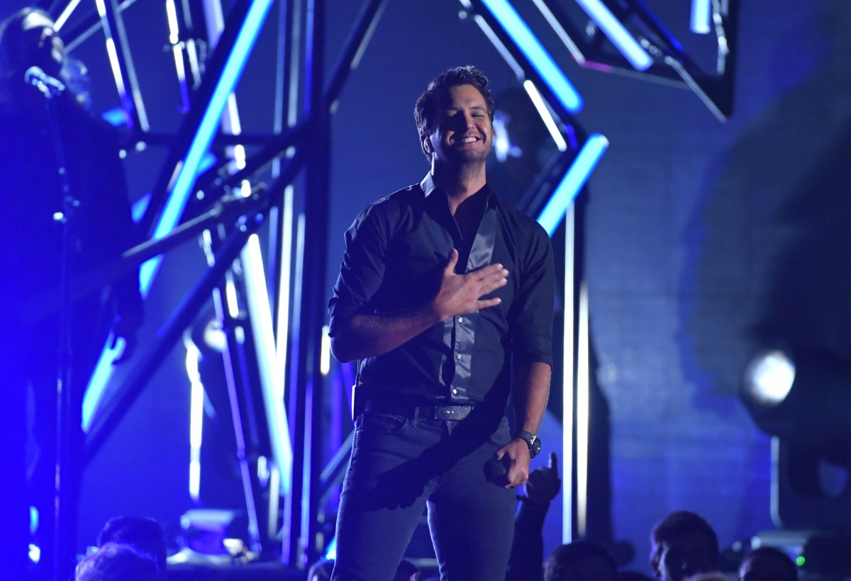 Luke Bryan punches fan for making 'insulting gestures' during concert