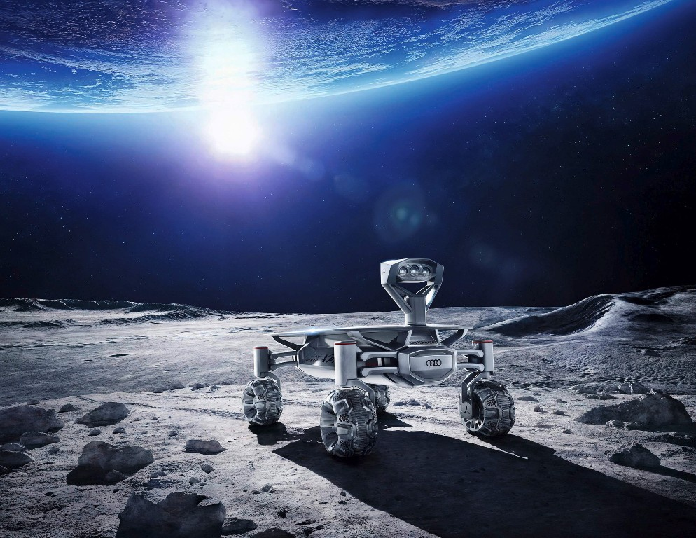 Audi lunar quattro set to explore moon in 2017-end