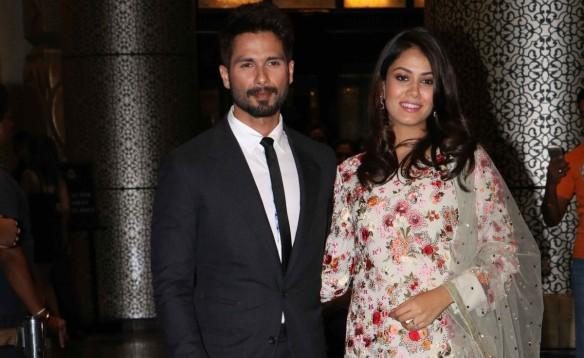 Shahid Kapoor and Mira Rajput shoot with Karan Johar on Koffee With Karan 5