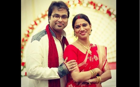 Gayatri Asokan marries Purbayan Chatterjee