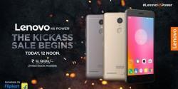 Lenovo K6 Power goes on sale in India via Flipkart